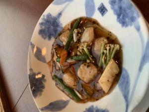 帆立の豆豉炒め