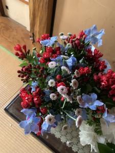お花のお供え